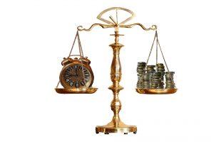 מאזניים: זמן מול כסף